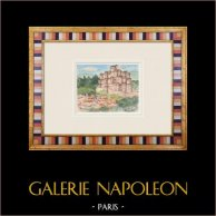 Castelo imaginário - Mareuil-sur-Lay-Dissais - Vendéia - França (Henriette Quillier)