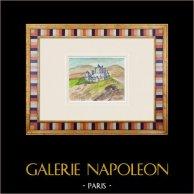 Castelo imaginário - Nieul-sur-l'Autise - Vendéia - França (Henriette Quillier)