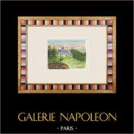 Castelo imaginário - Saint-Martin-des-Noyers - Vendéia - França (Henriette Quillier)