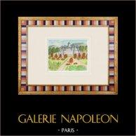 Castelo imaginário - La Chapelle Bellouin - Vienne - França (Henriette Quillier)