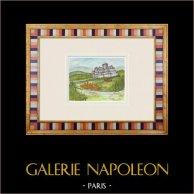 Castillo imaginario - Civray - Vienne - Francia (Henriette Quillier)