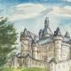 DÉTAILS 01 | Château imaginaire - Chateau de La Roche du Maine - Vienne - France (Henriette Quillier)