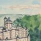 DÉTAILS 05 | Château imaginaire - Château-fort de Gençay - Vienne - France (Henriette Quillier)