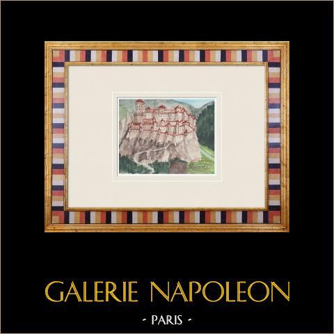 Wyimaginowany Zamek - Baudricourt - Wogezy - Francja (Henriette Quillier) |
