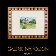 Château imaginaire - Pimelles - Yonne - France (Henriette Quillier)