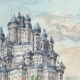 DÉTAILS 02 | Château imaginaire - Chiny - Wallonie - Belgique (Henriette Quillier)