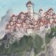 DÉTAILS 02 | Château imaginaire - Château de Riesenburg - Bohême - Tchéquie (Henriette Quillier)