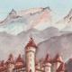 DÉTAILS 02 | Château imaginaire - Château d'Ortenburg - Carinthie - Autriche (Henriette Quillier)