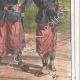 DÉTAILS 04 | Caricature - Invasion de l'Algérie par la France - Emir Abdelkader  - Il nous en a fait user des chaussures celui la !