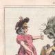 DÉTAILS 01 | Caricature de la Guerre d'Indépendance Italienne - 1862 - Lion de Saint Marc - Vénétie - Autriche - Venise - Il occupe tout mon monde !