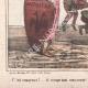 DÉTAILS 03 | Caricature de la Guerre d'Indépendance Italienne - 1862 - Lion de Saint Marc - Vénétie - Autriche - Venise - Il occupe tout mon monde !