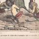 DÉTAILS 04 | Caricature de la Guerre d'Indépendance Italienne - 1862 - Lion de Saint Marc - Vénétie - Autriche - Venise - Il occupe tout mon monde !