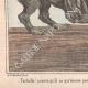 DÉTAILS 03   Caricature de la Guerre d'Indépendance Italienne - 1862 - Lion de Saint Marc - Vénétie - Autriche - Venise - Pourvu qu'il ne parvienne pas à ôter sa muselière !