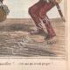 DÉTAILS 06   Caricature de la Guerre d'Indépendance Italienne - 1862 - Lion de Saint Marc - Vénétie - Autriche - Venise - Pourvu qu'il ne parvienne pas à ôter sa muselière !