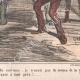 DÉTAILS 04 | Caricature de la Guerre d'Indépendance Italienne - 1862 - Lion de Saint Marc - Vénétie - Autriche - Venise  - Il mange trop !