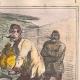 DÉTAILS 05 | Caricature de la Guerre d'Indépendance Italienne - 1862 - Lion de Saint Marc - Vénétie - Autriche - Venise  - Il mange trop !