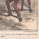DÉTAILS 06 | Caricature de la Guerre d'Indépendance Italienne - 1862 - Lion de Saint Marc - Vénétie - Autriche - Venise  - Il mange trop !