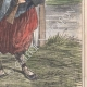 DÉTAILS 04   Caricature de la Guerre d'Indépendance Italienne - 1859 - Rives du Pô  - Farceurs d'autrichiens !
