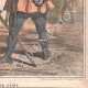 DETAILS 06 | Caricature of the Italian War of Independence - 1859 - Lombardy - Milan - Milanese in good standing