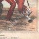DETAILS 06 | Caricature of the Italian War of Independence - 1859 - Tap firmly! and do not be afraid !! I hold him !