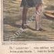 DÉTAILS 05 | Caricature de la Guerre d'Indépendance Italienne - 1859  -  Lazzarone ! vous oubliez votre guitare ! Je n'en ai plus besoin voici les siciliens !