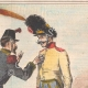DETAILS 02 | Caricature of the Italian War of Independence - 1859 - You do not understand that it's infamous to whip a woman?