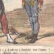 DETAILS 04 | Caricature of the Italian War of Independence - 1859 - You do not understand that it's infamous to whip a woman?