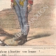 DETAILS 06 | Caricature of the Italian War of Independence - 1859 - You do not understand that it's infamous to whip a woman?