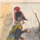 DÉTAILS 01 | Caricature de la Guerre d'Indépendance Italienne - 1859 - Caisse du Duc de Modène