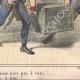 DÉTAILS 04 | Caricature de la Guerre d'Indépendance Italienne - 1859 - Caisse du Duc de Modène
