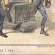 DÉTAILS 06 | Caricature de la Guerre d'Indépendance Italienne - 1859 - Caisse du Duc de Modène