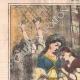 DÉTAILS 01   Caricature - Turquie - 1861 - Le nouveau sultan a donné l'ordre de vous marier toutes !