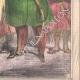 DÉTAILS 04   Caricature - Turquie - 1861 - Le nouveau sultan a donné l'ordre de vous marier toutes !