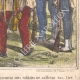 DETAILS 06 | Caricature of the Italian War of Independence - 1859 - Damned French Flag!