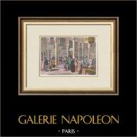 Exposição Universal de Paris de 1867 - Okel - Egito - Caravançarai