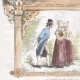 DETAILS 03   Paris Universal Exhibition of 1867 - Traditional Costume - Sweden - Norway