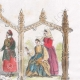 DETAILS 04   Paris Universal Exhibition of 1867 - Traditional Costume - Sweden - Norway