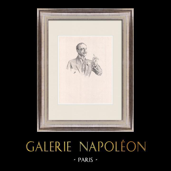 Gravures Anciennes & Dessins | Pièce de Théâtre - Education de Prince (Maurice Donnay) 6/62 | Lithographie | 1931