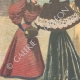 DETAILS 02 | Costumes of women - Winter fashions - 1895