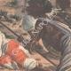DÉTAILS 04   Dernières batailles africaines - Mort de Bath-Agos - 1895