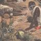 DÉTAILS 05   Dernières batailles africaines - Mort de Bath-Agos - 1895