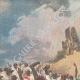 DETAILS 01   Italo-Ethiopian War - Battle of Senafé  - General Baratieri winner - 1895