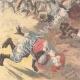 DETAILS 06   Italo-Ethiopian War - Battle of Senafé  - General Baratieri winner - 1895