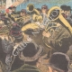 DETAILS 06   Italo-Ethiopian War - Boarding of the soldiers in Naples - 1895