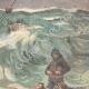 DÉTAILS 03 | Naufrage - Sauvetage des naufragés de l'Elbe par un bateau de pêche - 1895
