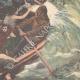 DÉTAILS 06 | Naufrage - Sauvetage des naufragés de l'Elbe par un bateau de pêche - 1895