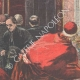 DETAILS 02 | Lent at the Vatican - The Pope listens to the sermon - Italy - XIXth Century