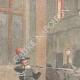 DÉTAILS 01   Deux Carabiniers ivres tirent sur la foule à Vigevano - Italie - 1895