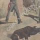 DÉTAILS 02   Deux Carabiniers ivres tirent sur la foule à Vigevano - Italie - 1895