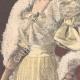 DETAILS 02 | Portrait of Prince Emanuele Filiberto and Hélène of Orléans, his fiancee - 1895